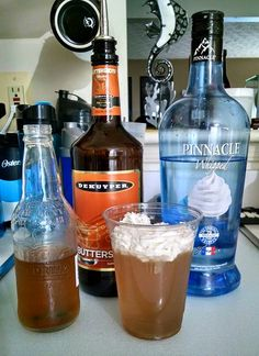 Butterbeer -2oz Whipped Vodka -2oz ButterShots schnapps -6oz Cream soda Mix together in shaker w/ ice & strain into glass. Can top w/ whipped cream