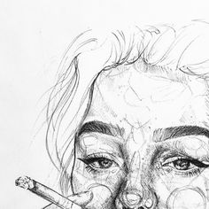 Siguemee como Manuela Paz ❤ Y disfruta de mi con. Pencil Art Drawings, Art Drawings Sketches, Cool Drawings, Art Inspo, Inspiration Art, Art Du Croquis, L'art Du Portrait, Sketches Of People, Art Hoe