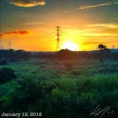 夕焼け #sky #cloud #philippines #sunset #空 #雲