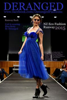 Betty Blue By Deranged Runway 2015, Betty Blue, Sustainable Fashion, Notre Dame, How To Make, How To Wear, Formal Dresses, House Styles, Fashion Design