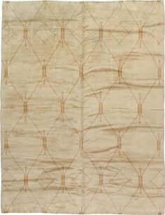 Vintage Moroccan Carpet, No. 14389 - from Galerie Shabab
