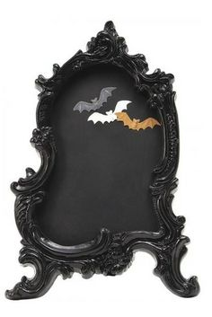 Wicked Baroque Chalkboard with Magnets from Home Decorators Collections:  Wicked Baroque Chalkboard with Magnets will bring fashionable gothic flair to your table or countertop.