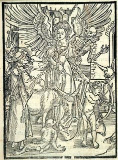 University of Houston Digital Library: Ship of Fools Woodcuts: Of Wooing