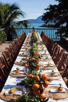 CZConnection Ilhabela - Constance Zahn   Casamentos Girls Dream, Table Decorations, Wedding, Outdoor, Inspiration, Party Ideas, Home Decor, Wedding Lunch, Civil Wedding