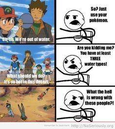 funny Pokemon cereal guy meme on We Heart It Pokemon Comics, Pokemon Funny, Pokemon Pokemon, Stupid Pokemon, Pikachu, Pokemon Stuff, Superwholock, Cereal Guy, Water Type