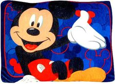 Disney Mickey Mouse Toddler Pillow.  Buy New: $7.94  Deal by: SmartPillowShoppers.com