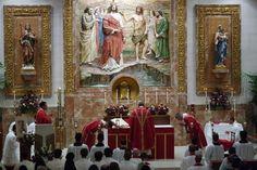 Solemn Pontifical Mass (Extraordinary Form) in honor of Father Augustus Tolton, Servant of God, St. John the Baptist Catholic Church. Costa Mesa, CA