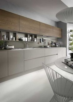The best modern kitchen design this year. Are you looking for inspiration for your home kitchen design? Take a look at the kitchen design ideas here. There is a modern, rustic, fancy kitchen design, etc. Luxury Kitchen Design, Best Kitchen Designs, Interior Design Kitchen, Home Design, Interior Modern, Modern Decor, Diy Interior, Coastal Interior, Interior Architecture