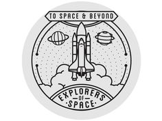 Space Badge 3 by Seiji Hori | Dribbble