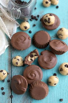 Cookie Dough Chocolate Cups2