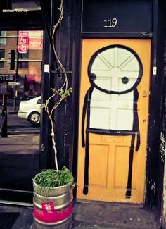 Street artist STIK will being signing copies of his new book at The Strand on July 21 starting at 6PM