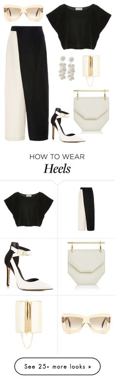 """Zico!"" by schenonek on Polyvore featuring Mara Hoffman, Roksanda, GUESS, M2Malletier and Balmain"