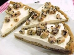 Cookie dough icecream pizza!
