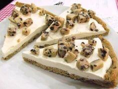 Cookie dough icecream pizza!