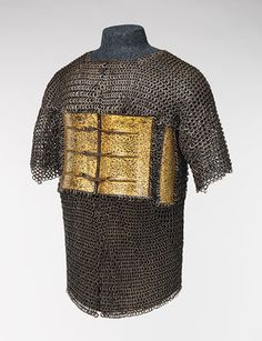 Shirt of mail and plate [India and Iran] (2008.245) | Heilbrunn Timeline of Art History | The Metropolitan Museum of Art