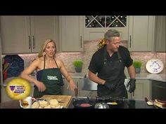 Michael Gilbert from City Kitchen makes their brerakfast burger with Tomato Jam during Today in Nashville airing weekdays at on WSMV-TV Breakfast Burger, Tomato Jam, On Today, Burgers, Nashville, City, Cooking, Kitchen, Hamburgers