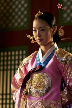 Korean drama [Cruel Palace - War of Flowers] = 장렬왕후 [Queen Jangryeol] - 고원희(Go Won-hee)