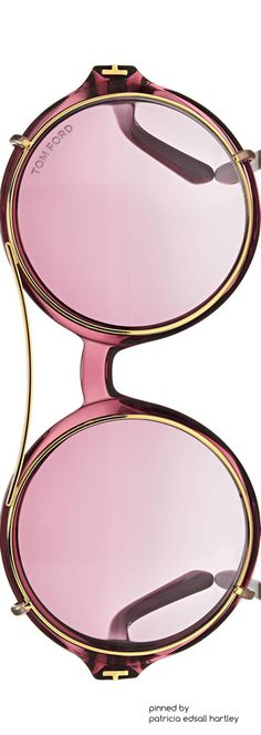 TRENDING: John Lennon inspired sunglasses designed by Tom Ford. Zippertravel. #DrStyle