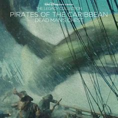 Custom artwork for 'Pirates of the Caribbean: Dead Man's Chest' in the style of Disney's The Legacy Collection. I used frames from the film for this one.