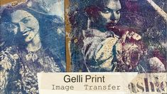 video demo from Southern Gals Design: Gelli Print Image Transfer--- Tips & Tricks . artsy images from fashion magazine transferred to paper for collage and/or art journals . Collages, Gelli Plate Printing, Gelli Arts, Plate Art, Gravure, Fabric Painting, Art Techniques, Art Tutorials, Art Lessons