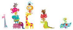 vinilos infantiles animales - Buscar con Google