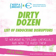 Dirty Dozen List of Endocrine Disruptors 12 Hormone-Altering Chemicals and How to Avoid Them