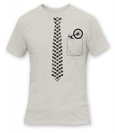 Tatoo Camiseta Hombre Corbata