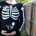 pregnant-skeleton-costume.  For all the pregnant ladies out there.