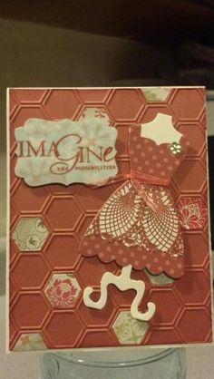 Honeycomb dress card