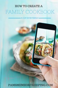 You can quickly and easily create the perfect cookbook as a gift or for your favorite recipes.