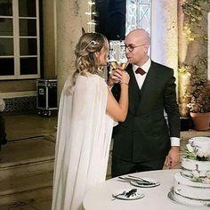Camomile Hair Drape Wedding Looks, Wedding Bride, Wedding Day, Formal Dresses, Wedding Dresses, Big Day, Brides, Hair, Fashion