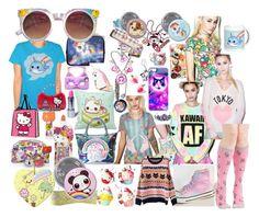"""""""Kawaii Fashion - so cute"""" by pinkypkawaiigirl on Polyvore"""
