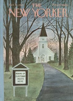 The New Yorker - Saturday, October 31, 1964 - Issue # 2072 - Vol. 40 - N° 37 - Cover by : Charles E. Martin
