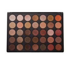 """Description Ingredients    This all shimmer palette is everything you love about the super popular 35O palette in all shimmery colors. Filled with warm golden and bronze shades, fiery sunsets, and glowing highlight colors, you'll be reaching for this palette whenever you want to get your glow on.  Dimensions of Palette: Length - 9"""" / Width - 6 1/2"""" / Thickness - 1/2"""" / Number of Pans: 35 /Pan Size: 1"""" (Net Wt. 56.2g / 1.98oz)   Ingredi..."""