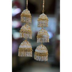 Punjabi Golden Bridal Kalire Price:3,300INR