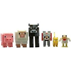 [Minecraft: Action Figures: Animal Mob 6 Pack (Product Image)]