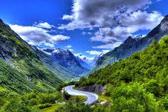 Stryn, Song og Fjordane, Norway