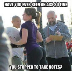 that ass...