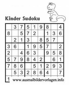 sudoku fur kinder 6x6 schulkinder pinterest sudoku mathe und malen nach zahlen kinder. Black Bedroom Furniture Sets. Home Design Ideas