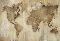 """""""Map of the World"""" by Liz Jardine.  Available at ThirdandWall.com"""