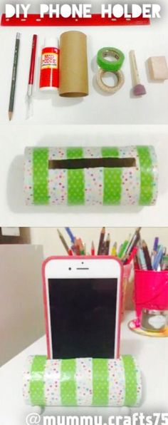 Make a phone case, diy recycle, redneck crafts, diy and crafts, toilet pape Crafts For Teens, Diy And Crafts, Paper Crafts, Make A Phone Case, Phone Cases, Diy Videos, Craft Videos, Redneck Crafts, Bath And Beyond Coupon