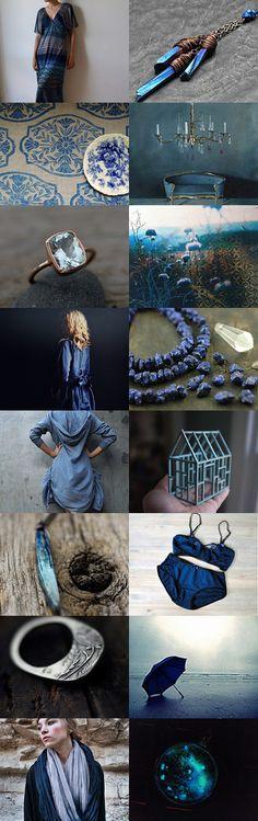 shining blue by Barbara on Etsy--Pinned with TreasuryPin.com