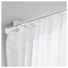 curtain rails ikea vidga single track rail the rail can be cut to the desired hcnxwha - Design Ideas 2019 Custom Drapes, Coastal Living Rooms, White Kitchen Remodeling, Cool Curtains, Ikea, Curtains, Spring Kitchen Decor, Ikea Curtain Rods, Replacing Kitchen Countertops
