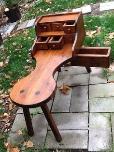 Custom UPstyle For Antique Cobblers Bench Coffee By GirlUPcycled, $275.00