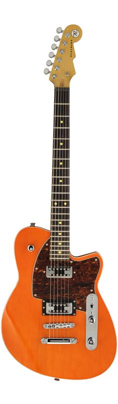 Reverend Guitars Flatroc Rock Orange.  I've never played a Reverend, but I sure love the look of them.