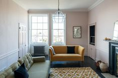 Journalist Kate Watson-Smyth take a look through two properties for sale in Bath and Fife for her Househunter Room by Room feature. Small Rooms, Small Apartments, Loft Spaces, Living Spaces, Small Kitchen Diner, Baths For Sale, Mad About The House, Cosy Corner, Guest Bedrooms