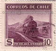 Chile Postage Stamps