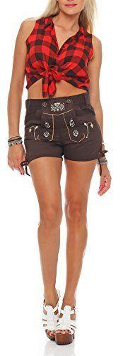 #Gennadi #Hoppe #Damen #Trachten #Shorts #Lederhosen #Stil #kurz #Oktoberfest…