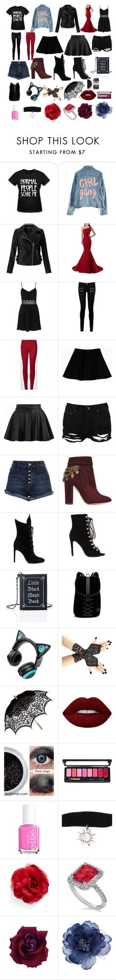 """""""everyday"""" by ciel-phantomhive12 ❤ liked on Polyvore featuring High Heels Suicide, Miss Selfridge, Topshop, Paige Denim, Max&Co., Boohoo, River Island, Aquazzura, Kendall + Kylie and Current Mood"""