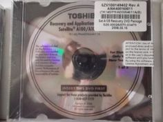 (jewel case)Toshiba Recovery and Applications /Drivers Media..sattelite A100/a105..2 Disc --- http://www.amazon.com/Toshiba-Recovery-Applications-Drivers-Media-sattelite/dp/B00D5EMWVS/ref=sr_1_19/?tag=telexintertel-20